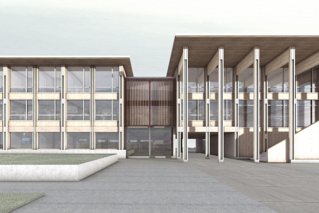 Schulhaus Champagne Biel - Bienne