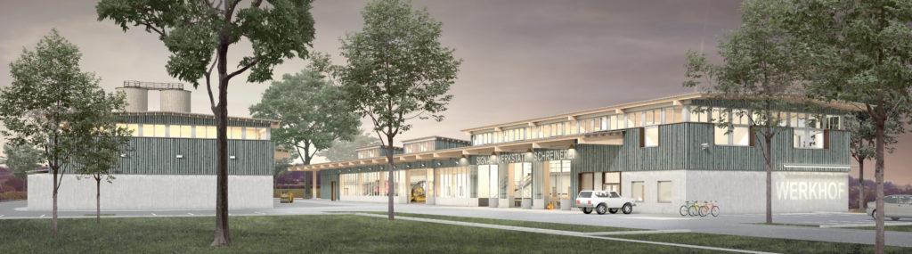 Neubau Werkhof Amriswil