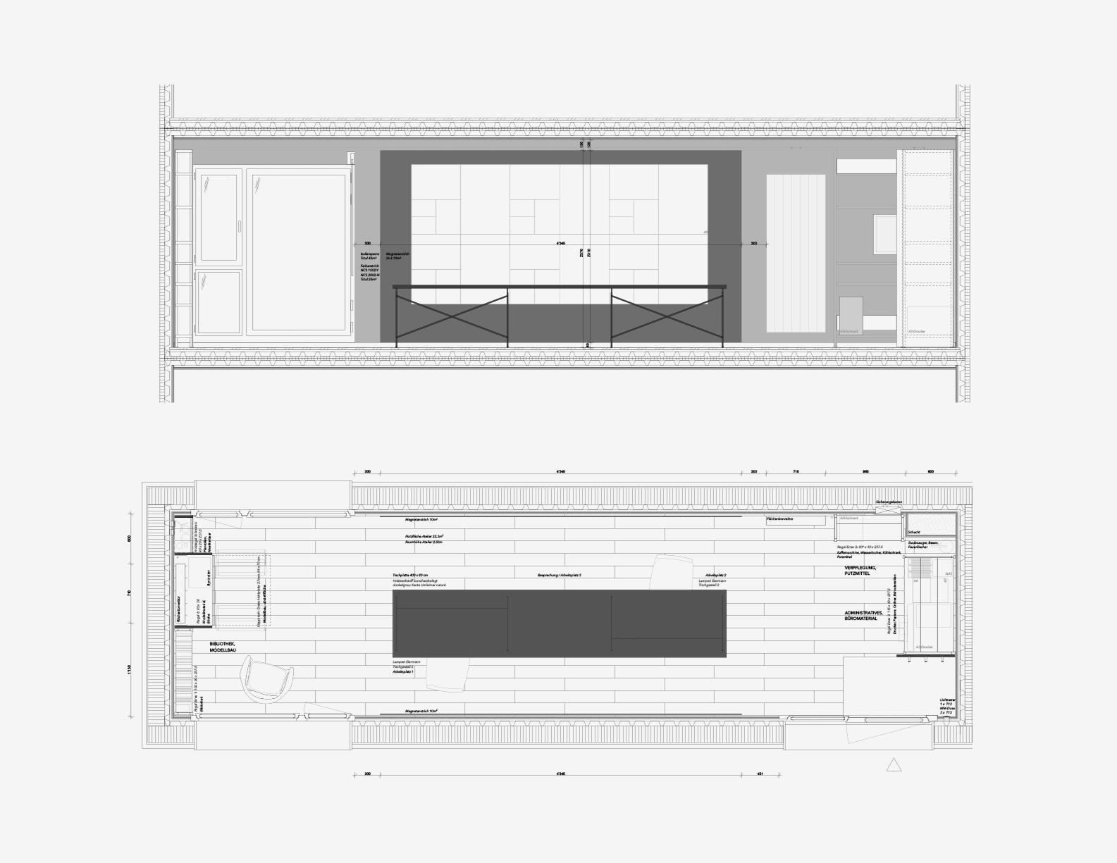 Atelier Geerenweg › 1_20 Grundriss